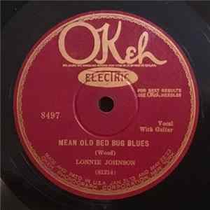 Lonnie Johnson - Mean Old Bed Bug Blues / Roaming Rambler Blues